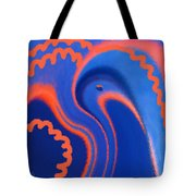 Abstract Blue Bird Tote Bag