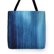 Abstract Blue Rain Tote Bag