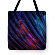 Abstract Blue Red Green Blur Tote Bag