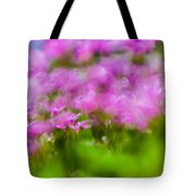 abstract Blurry pink flower background for backgrounds Tote Bag