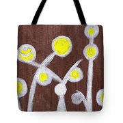 Abstract Bobbles Tote Bag