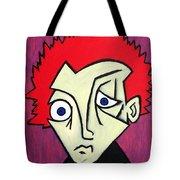 Abstract Boy Tote Bag