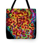 Abstract  Brain Tote Bag