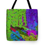 Abstract. Bring In The Noise Tote Bag
