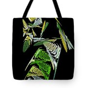 Abstract Bugs Vertical Tote Bag