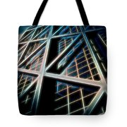 Abstract Buildings Tote Bag