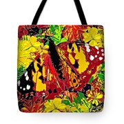 Abstract Butterfly #3 Autumn Tote Bag