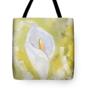 Abstract Calla Lily Tote Bag
