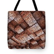 Abstract Ceiling Stone Construction  Tote Bag