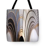 Abstract Chicago Sunrays On Trump Tower Tote Bag