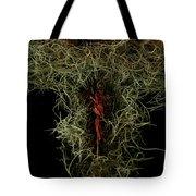 Abstract Christmas Manger Tote Bag