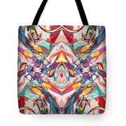 Abstract Color Mix Tote Bag