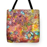 Abstract Colorama Tote Bag