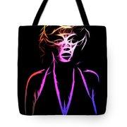 Abstract Colorful Monroe Tote Bag