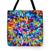 Abstract Colorful Splash Background 1 Tote Bag