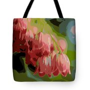 Abstract Coral Bells Tote Bag