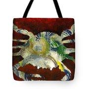 Abstract Crab Tote Bag