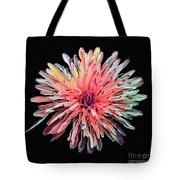 Abstract Chrysanthemum Tote Bag