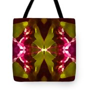Abstract Crystal Butterfly Tote Bag