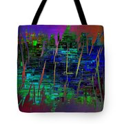 Abstract Cubed 104 Tote Bag