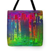 Abstract Cubed 113 Tote Bag