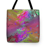 Abstract Cubed 136 Tote Bag