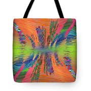 Abstract Cubed 168 Tote Bag