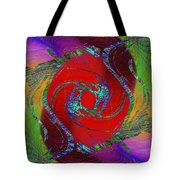 Abstract Cubed 189 Tote Bag