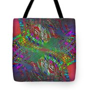 Abstract Cubed 194 Tote Bag