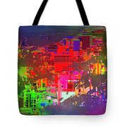 Abstract Cubed 2 Tote Bag