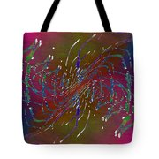 Abstract Cubed 217 Tote Bag