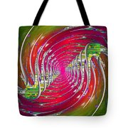 Abstract Cubed 218 Tote Bag