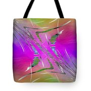Abstract Cubed 223 Tote Bag