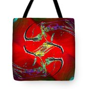 Abstract Cubed 229 Tote Bag