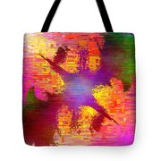 Abstract Cubed 26 Tote Bag