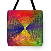 Abstract Cubed 3 Tote Bag