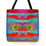 Abstract Cubed 30 Tote Bag