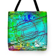 Abstract Cubed 41 Tote Bag
