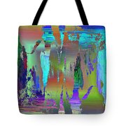 Abstract Cubed 75 Tote Bag