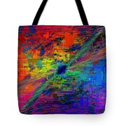Abstract Cubed 77 Tote Bag