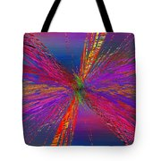 Abstract Cubed 95 Tote Bag