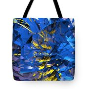 Abstract Curvy 10 Tote Bag