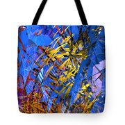Abstract Curvy 11 Tote Bag