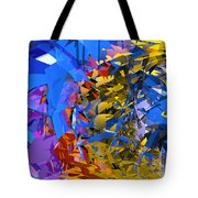 Abstract Curvy 13 Tote Bag