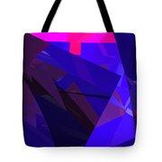 Abstract Curvy 17 Tote Bag