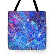 Abstract Curvy 30 Tote Bag