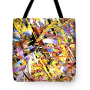 Abstract Curvy 33 Tote Bag