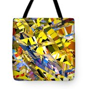 Abstract Curvy 34 Tote Bag