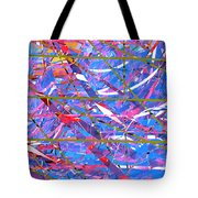 Abstract Curvy 45 Tote Bag