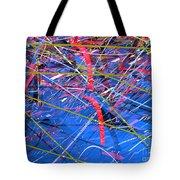 Abstract Curvy 46 Tote Bag